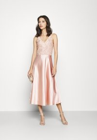 Lace & Beads - ALEXA SOFIE MIDI DRESS - Cocktail dress / Party dress - nude - 1
