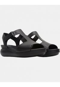 Camper - BALLOON - Wedge sandals - black - 2