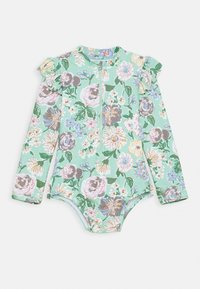 Cotton On - LUCY LONG SLEEVE SWIMSUIT - Swimsuit - multi coloured - 0