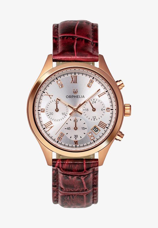 REGAL - Chronograph watch - burgundy