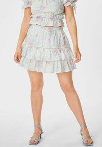 C&A - ARCHIVE - Mini skirt - white - 0