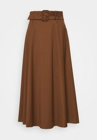 IVY & OAK - BELTED - Maxi skirt - gingerbread - 0