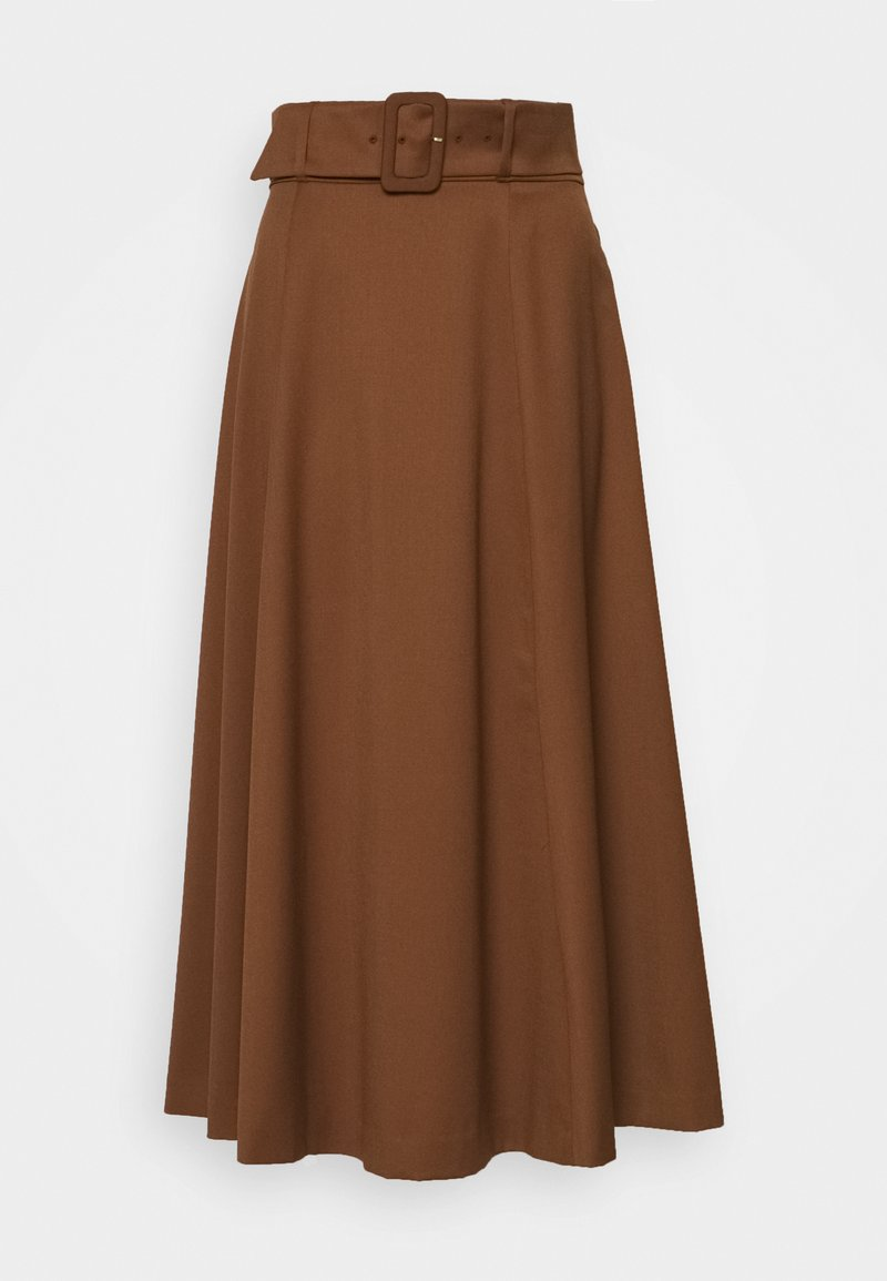 IVY & OAK - BELTED - Maxi skirt - gingerbread