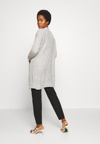New Look - MIDI POCKETS - Kardigan - mid grey - 2
