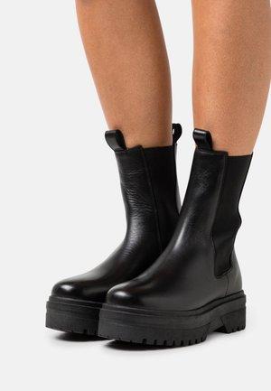 GOING  - Platform ankle boots - black