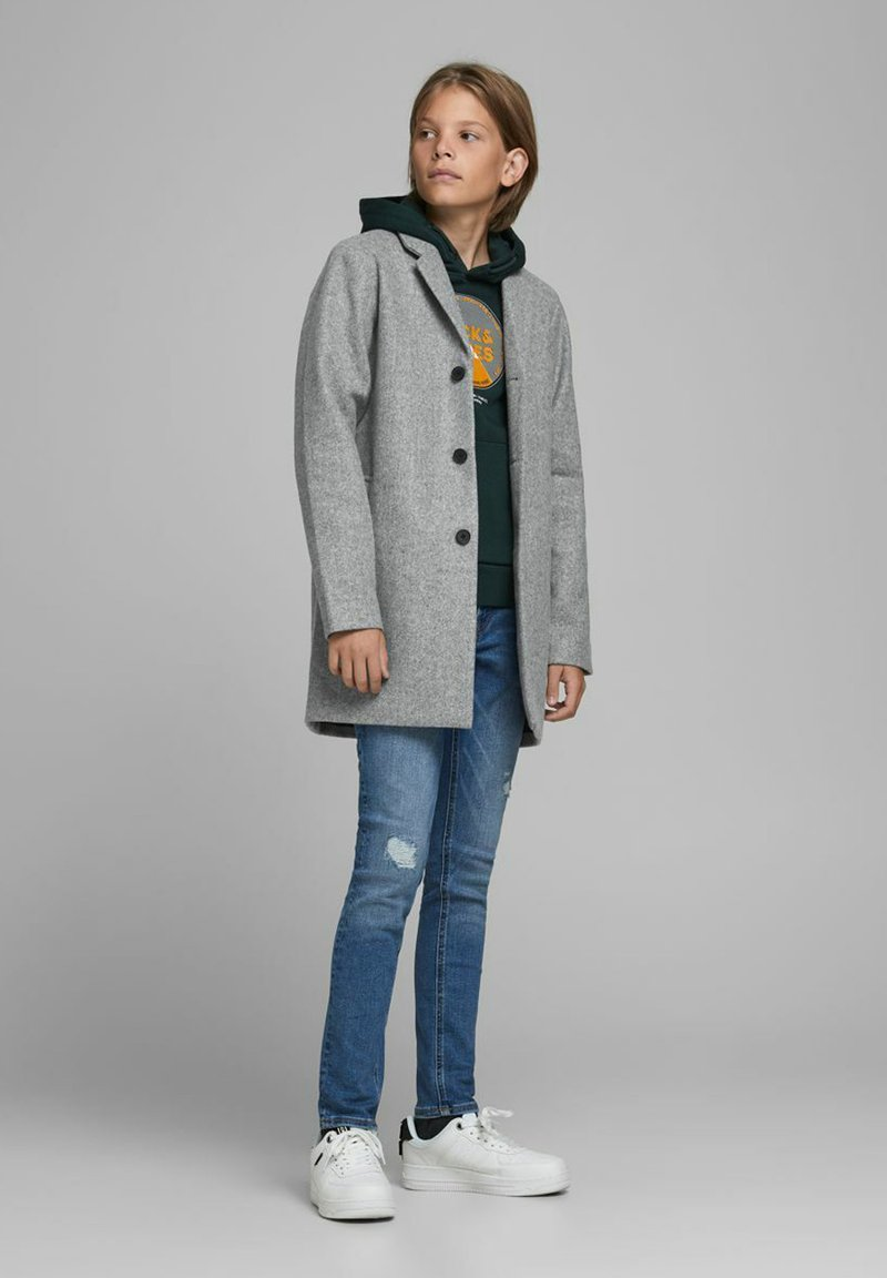 Jack & Jones Junior - Short coat - medium grey melange