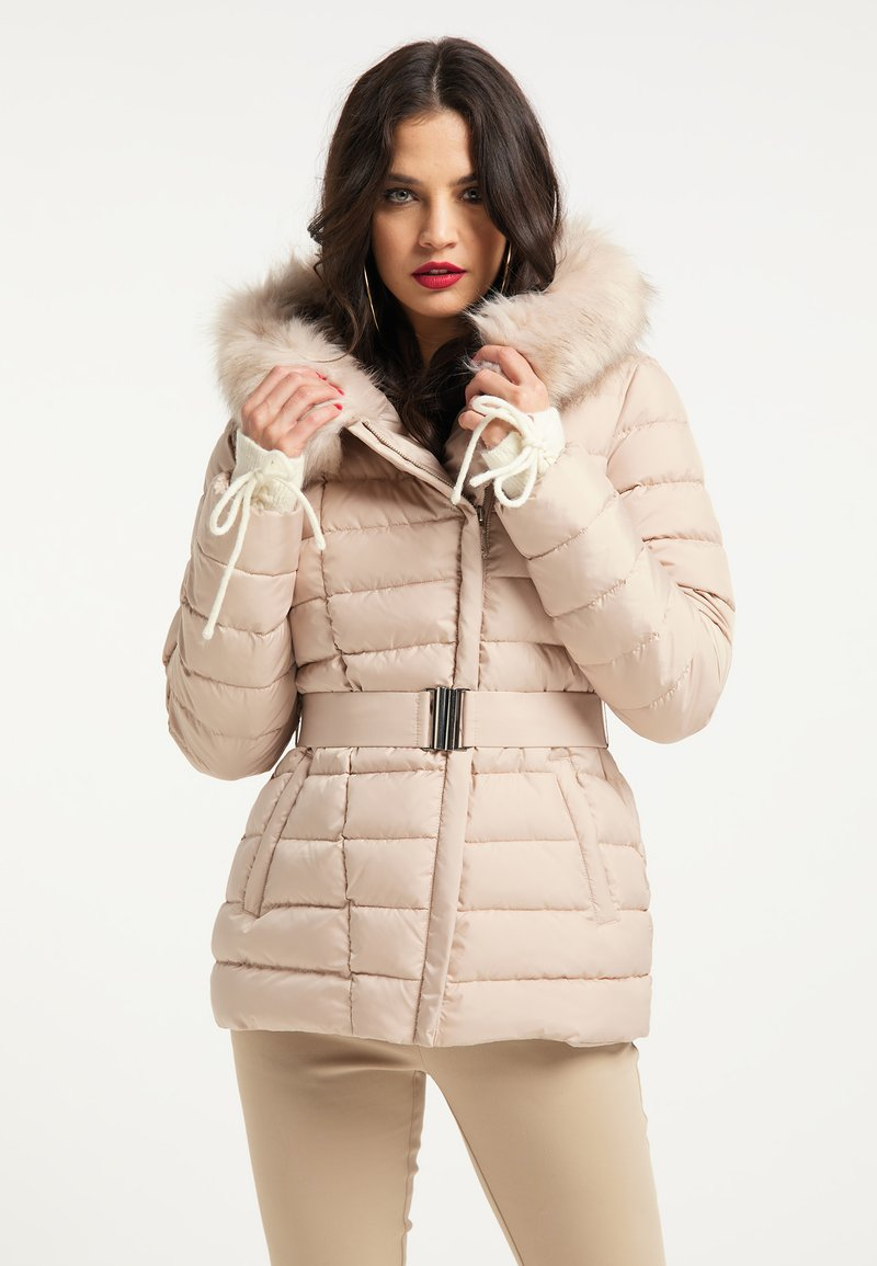 faina - Winter jacket - champagner