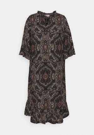 CARMAXI 3/4 CALF DRSSS - Day dress - black