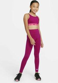 Nike Performance - ONE  - Leggings - fireberry/white - 1