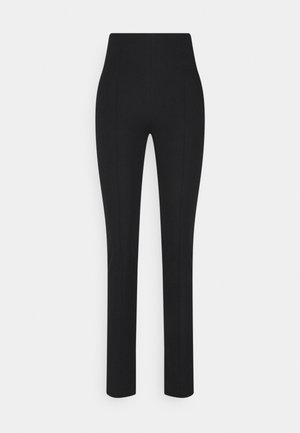 SLIM FIT TROUSER - Trousers - black