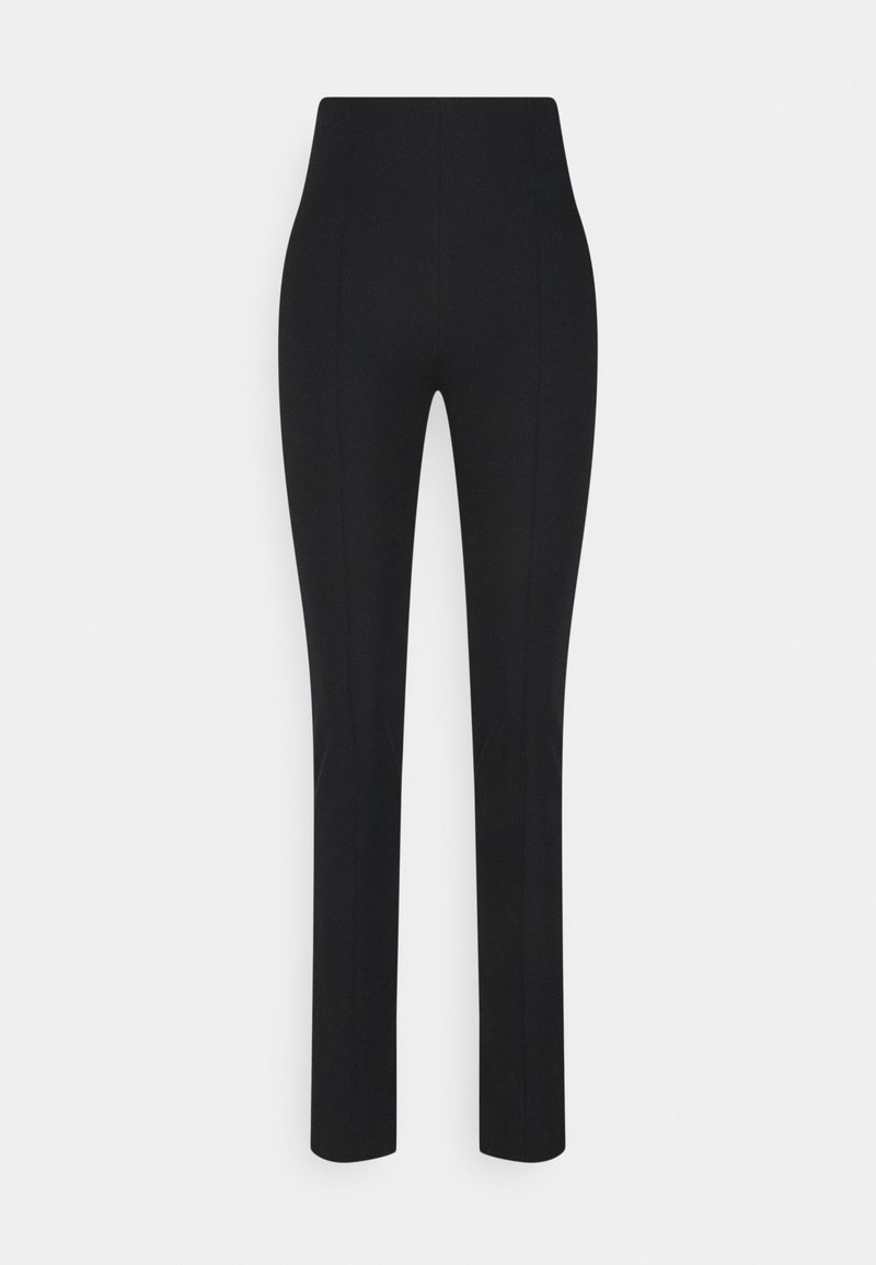 ARKET - SLIM FIT TROUSER - Trousers - black