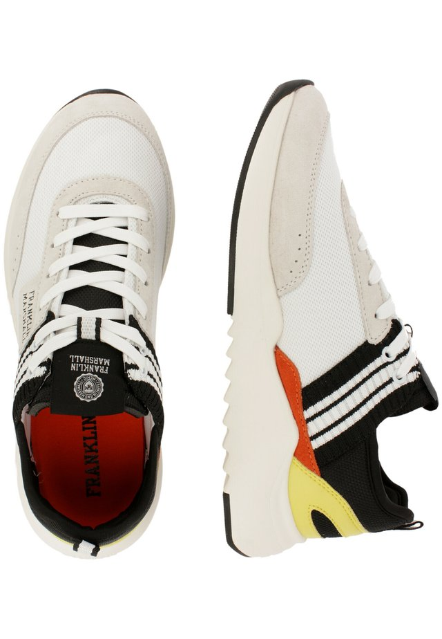 Sneakers laag - wht-blk