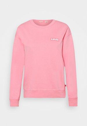 GRAPHIC STANDARD CREW - Sweater - peony