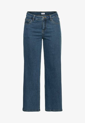 Flared Jeans - blue denim