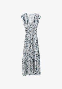 PULL&BEAR - Maxi dress - blue - 4