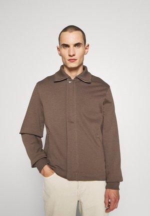 M. REX  JACKET - Summer jacket - dark taupe
