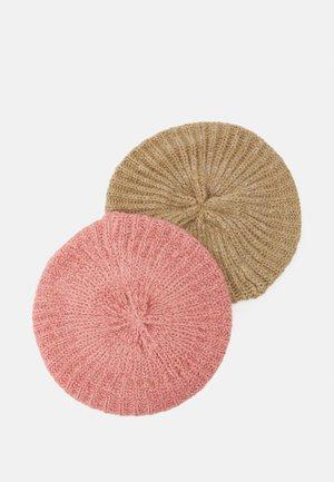 2 PACK - Gorro - pink/light grey