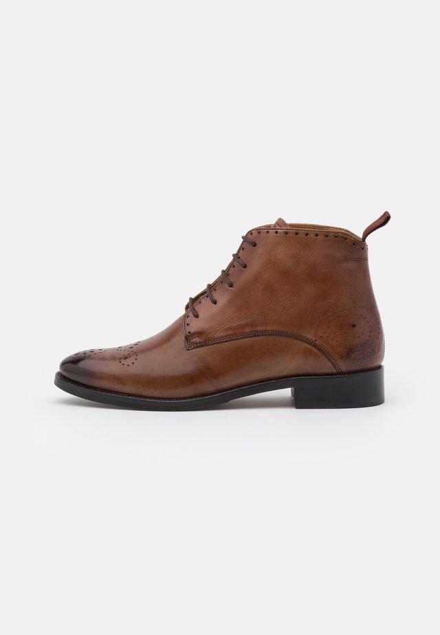 BETTY - Šněrovací kotníkové boty - tobacco/rich tan/brown