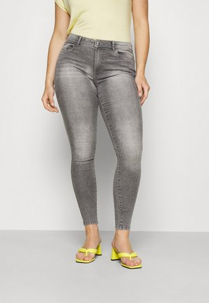 CARSALLY LIFE - Jeans Skinny Fit - medium grey denim