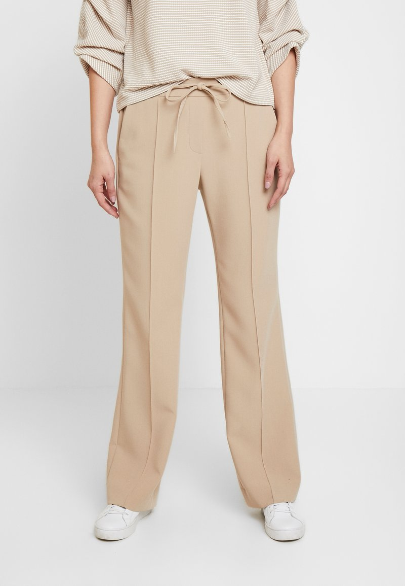 Opus - MONI - Trousers - soft ginger