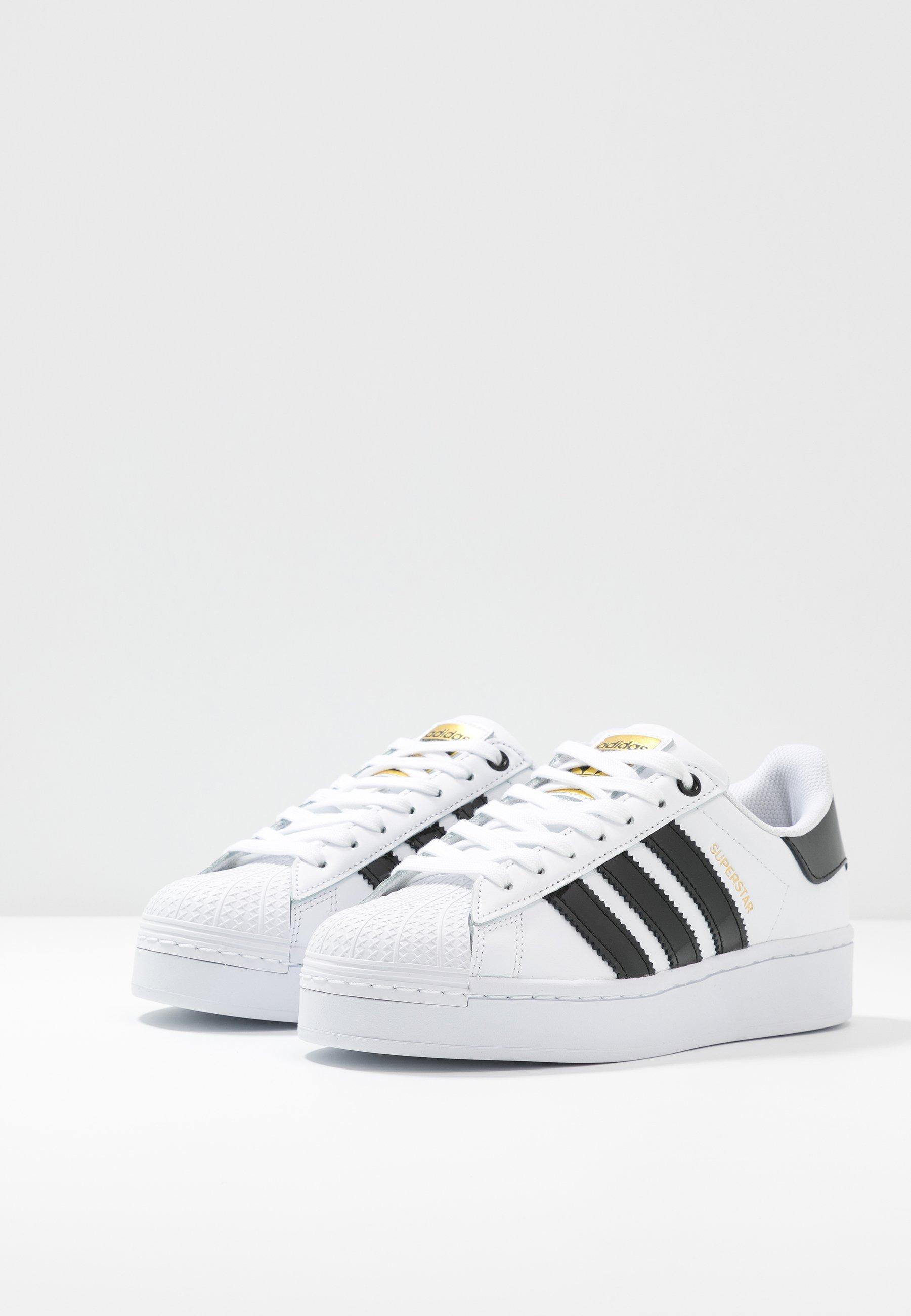 Adidas Originals Superstar Bold - Joggesko Footwear White/clear Black/gold Metallic/hvit