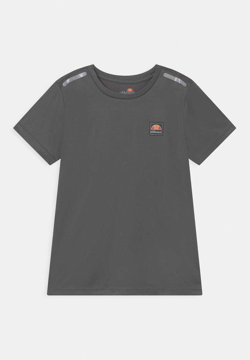 Ellesse - ROLLO UNISEX - T-shirt z nadrukiem - dark grey