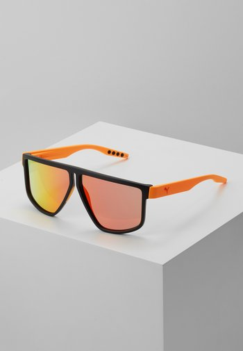 Sunglasses - black/orange/red