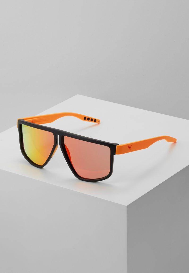 Puma - Sunglasses - black/orange/red