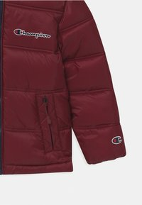 Champion - ROCHESTER HOODED UNISEX - Winter jacket - bordeaux - 2