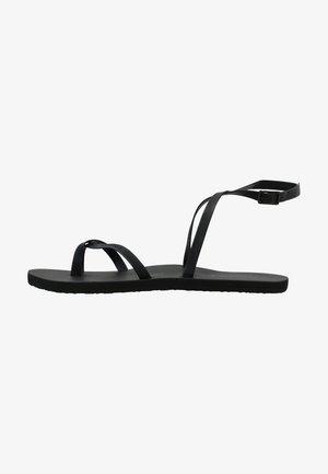 BATIDA SUN - T-bar sandals - black