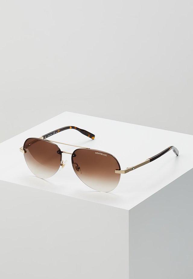 Sonnenbrille - gold-coloured/gold-brown