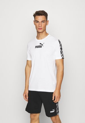 AMPLIFIED TEE - Triko s potiskem - white
