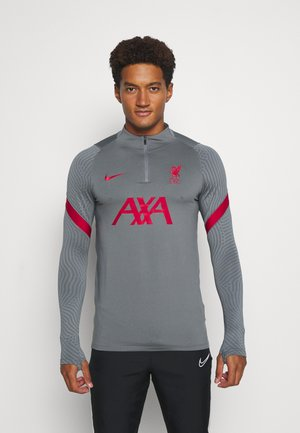 LIVERPOOL FC DRY - Club wear - smoke grey/gym red/gym red