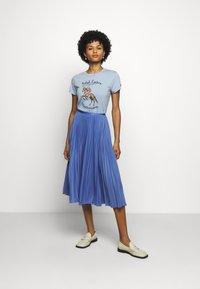 Polo Ralph Lauren - WSTRNWR SHORT SLEEVE - T-shirts med print - estate blue - 1