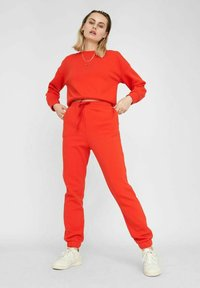 Noisy May - NMNORA - Tracksuit bottoms - fiery red - 1