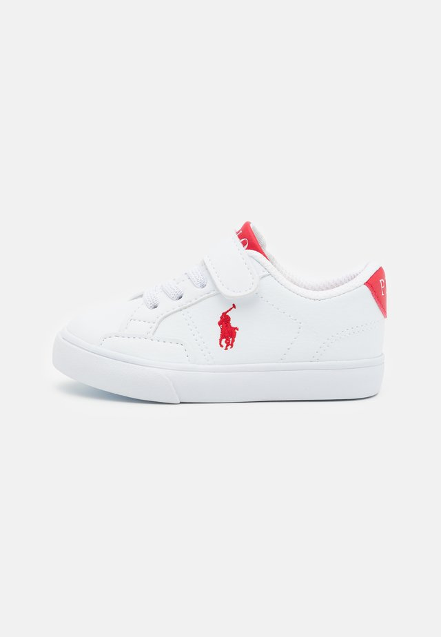 THERON IV UNISEX - Sneakers basse - white/red