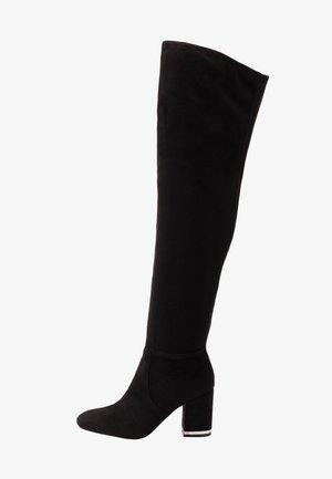 MONIFAH - Høye støvler - black