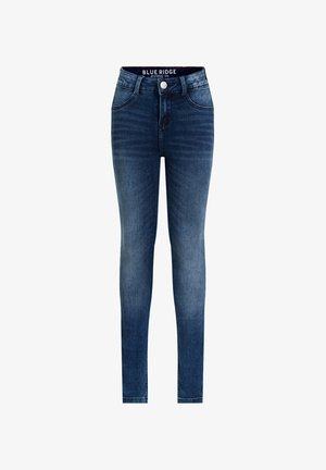 SUPERSKINNY - Jeggings - dark blue