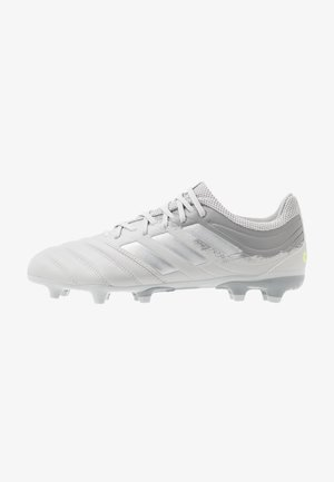 COPA 20.3 FG - Moulded stud football boots - grey two/silver metallic/solar yellow