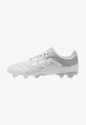 COPA 20.3 FG - Botas de fútbol con tacos - grey two/silver metallic/solar yellow