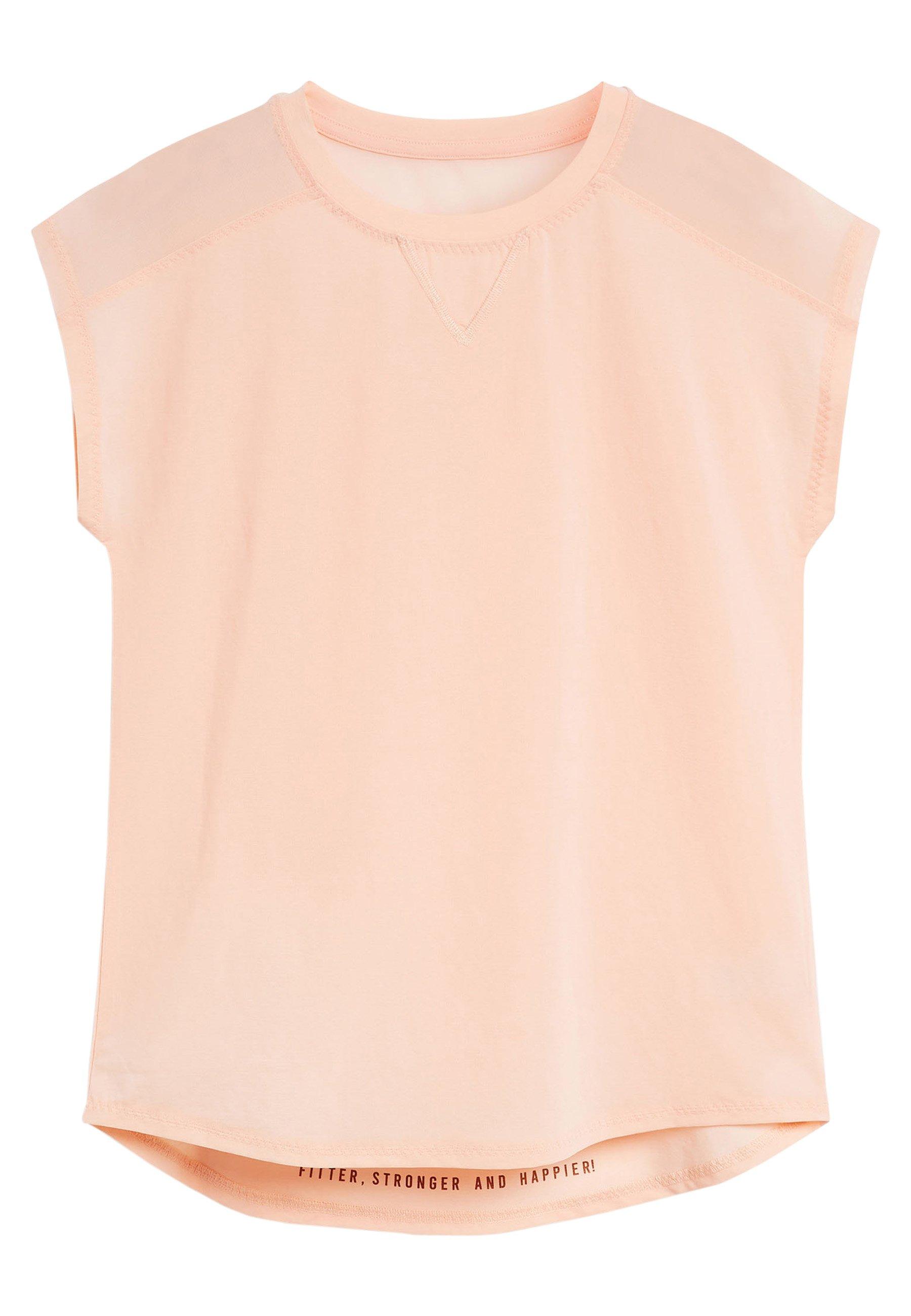 Damen SHORT SLEEVE MESH PANEL - T-Shirt print