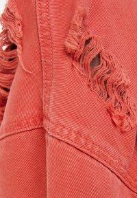 Bershka - Denim jacket - red - 5