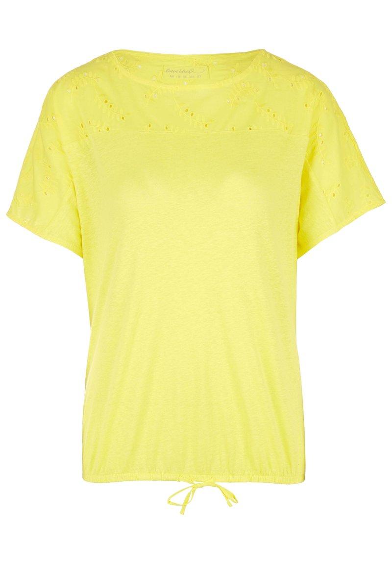 s.Oliver - T-shirt print - light yellow