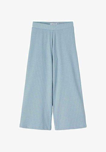 Spodnie materiałowe - dusty blue