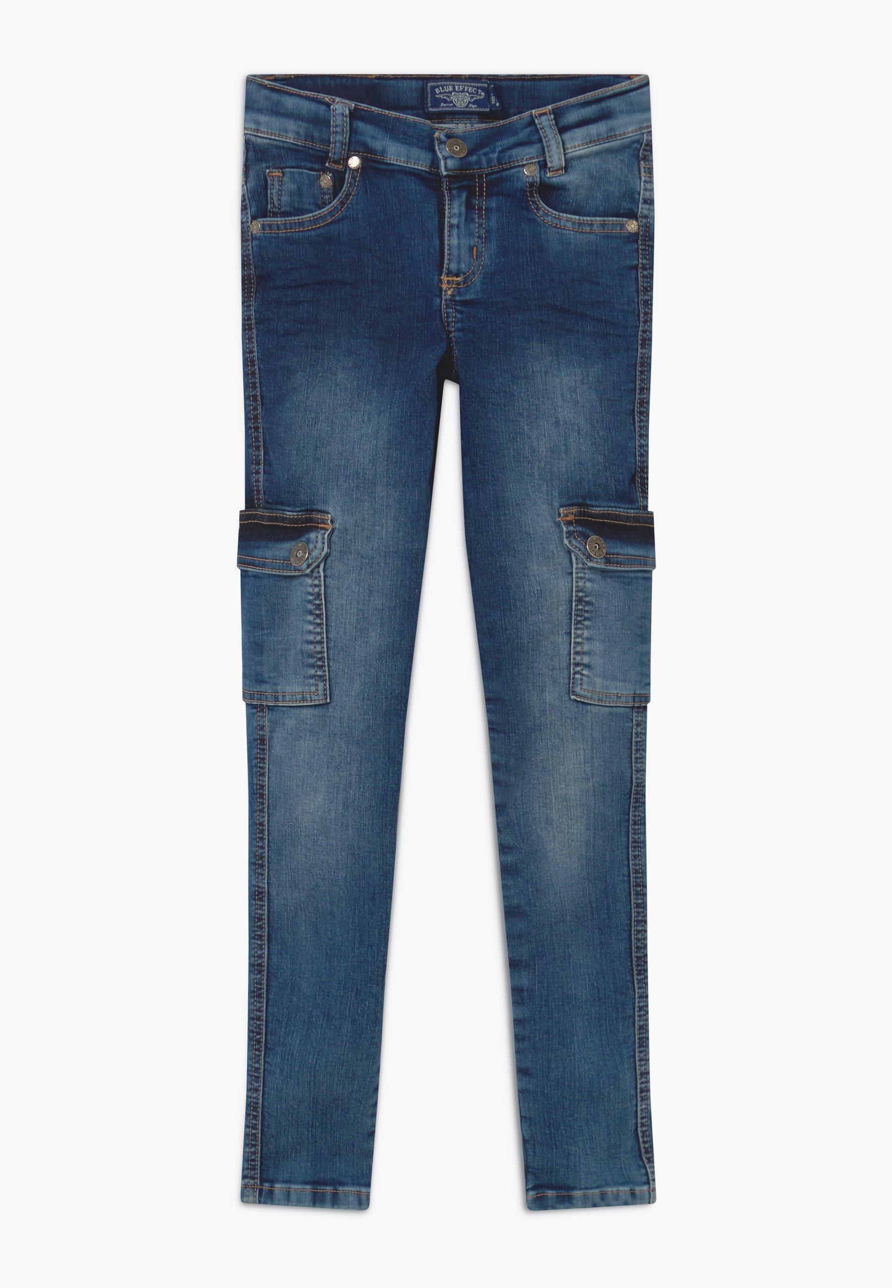 Kinder GIRLS CARGO - Jeans Skinny Fit