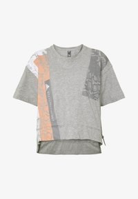 adidas by Stella McCartney - GRAPHIC TEE - Print T-shirt - grey - 5
