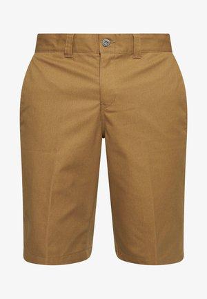 INDUSTRIAL WORK SHORT - Short - brown