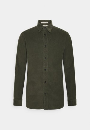SLHREGHENLEY CAMP - Shirt - deep forest