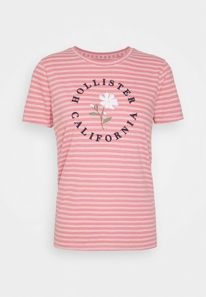 TECH CORE - T-shirts med print - pink