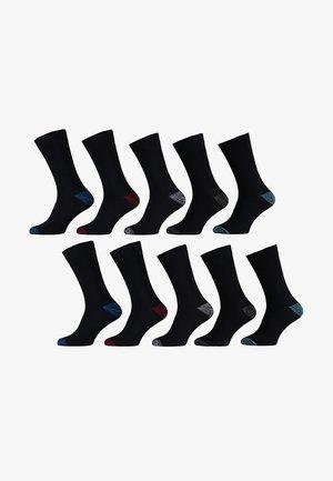 10 pack - Strømper - multi black